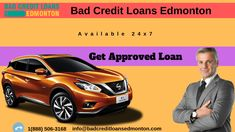 Apply for car title loan in Edmonton. if you have a shortage of money. you can get a loan at your car in Edmonton by bad credit loans Edmonton. you can get Approved loan amount 25000 and you can get a loan very easily. easy paperwork and get the loan within one hour.