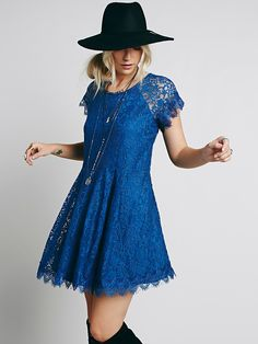 Free People Stardust Lace Mini Dress, $99.95
