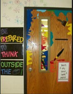 Door display