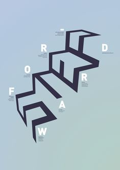 : : So clever : : Step Forward Vernissage Poster : :