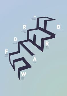 Step Forward Vernissage Poster