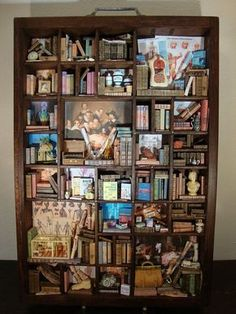 Reserved for Jason coe  Library miniature thematic von bagusitaly