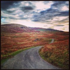 One lovely road after a hill climb #cycling