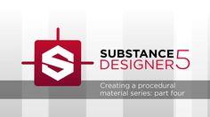 04 Create procedural rocky ground material.