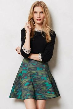 Quilted Camo Skirt