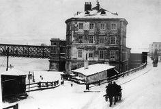 Donaubrücke Vintage, Linz, Historical Pictures, Primitive