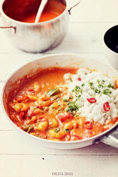 Curry de crevettes et de poivre - Recette