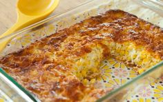 Corn pudding -I do not use flour, sugar, or cheese on my recipe. I wanted a photo...