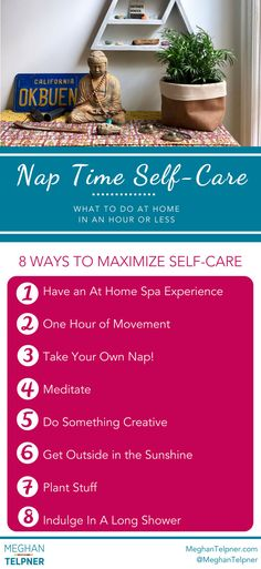 Nap Time Self-Care: Tips for Tired Moms