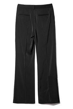 #Romwe Straight-Leg Black Pants