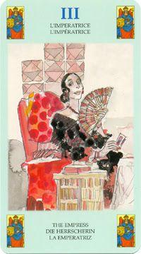 III. The Empress - Corto Maltese Tarot by Hugo Pratt