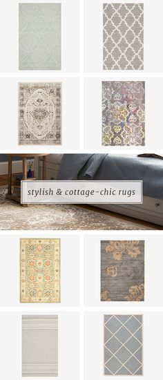 If you're looking for a way to add pattern, color, or texture to your space, the answer could be right under your feet. Shop Joss and Main's selection of rugs to find the perfect option and unroll a whole new look. Sign up at jossandmain.com and get up to 70% off!
