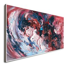 Amazon.com: Wall Decor Horizontal Modern Art Oil Paintings For Living Room Large Framed Art Deco Art Colorful Modern Art Design Abstract Art Designs Room Painting: Handmade