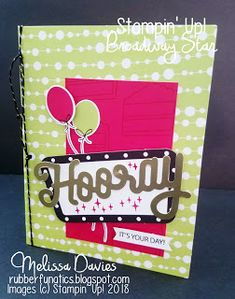 RubberFUNatics: A Paper Pumpkin Thing Blog Hop Broadway Star Birthday Star, Birthday Cards, Paper Glue, Paper Crafts, Stampin Up Paper Pumpkin, Craft Day, Craft Kits, Homemade Cards, Pumpkin Ideas