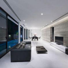 Modern house - Living space