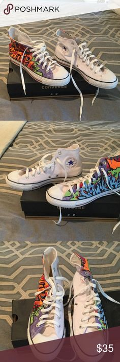 be3feba6d726 NWOT Converse sneakers Converse Graffiti sneakers