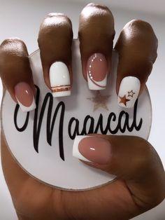 French Manicure Nail Designs, Nail Manicure, Nail Art Designs, Beautiful Nail Designs, Beautiful Nail Art, Les Nails, Semi Permanente, Sparkle Nails, Dream Nails