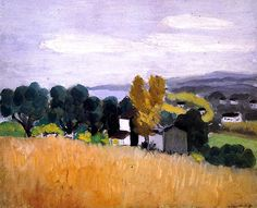Autumn in Cagnes / Henri Matisse - 1918