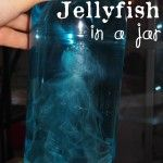 Jellyfish in a jar- fun experiment for kids