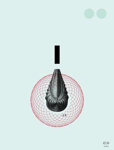 Paleo - limited edition print series | Chris Ferebee, 2014