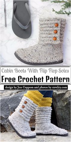 I have compiled a collection of beautiful and comfortable free crochet flip flop patterns for you and your newborn or young children. Crochet Sole, Crochet Slipper Pattern, Crochet Boots, Crochet Slippers, Crochet Clothes, Free Crochet, Crochet Patterns, Crochet Ideas, Crochet Projects