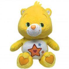 CARE BEARS Plüsch Figur SUPERSTARBÄRCHI gelb | 27 cm #CareBears #Glücksbärchis