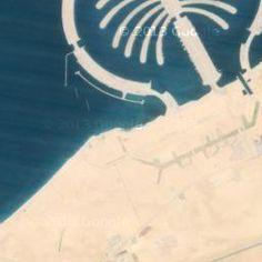 Google Earth Dubai, The Manmade luxurious Palm Island Jebel Ali | Milloz Satellite Maps, Garden Tools, Dubai, Ali, Earth, Island, Luxury, Google, Yard Tools