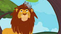 The Lion And The Mouse | Read online books for kids – Dino Books