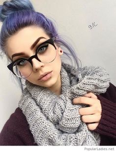 Are you the one who is looking for a great substitute to the standard lip piercings? If yes, then you can try Jestrum Lip Piercing. The Jestrum piercing is Beauty Makeup, Hair Beauty, Vogue Makeup, Eye Makeup, Grunge Hair, Purple Hair, Pretty Hairstyles, Nerdy Hairstyles, Makeup Inspiration