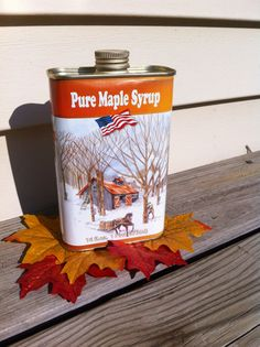 One Pint of Pure Maple Syrup Grade A: DARK Amber by gentlewolf
