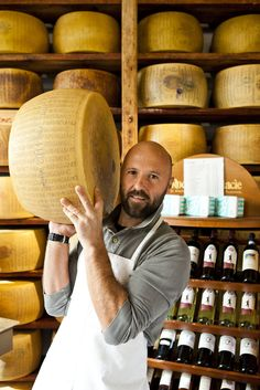 Formaggio Italiano - Livorno, Italy - A good man is a man who brings me cheese.