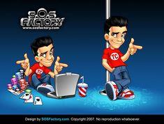 Mascot design for Tyler Cruz by *SOSFactory