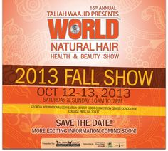 Taliah Waajid World Natural Hair Show