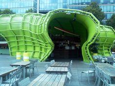 Paris - Turistique - Bar du centre de design
