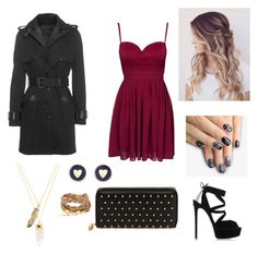 """""""Untitled #11"""" by kwkalyn on Polyvore featuring The Kooples, Elise Ryan, Alexander McQueen, Privileged, Brooks Brothers, Casadei and alfa.K"""