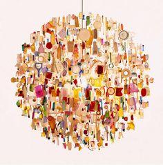 Lustre contemporain en plastique recycl - TIDE - ArchiExpo