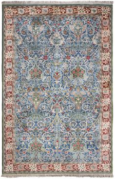 A William Morris 'Hammersmith' Carpet, hand knotted for Morris & Co, designed by John Henry Dearle | Lot | Sotheby's