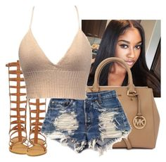 """""""lovvve this tooppp"""" by simoneswagg on Polyvore featuring Michael Kors and Levi's"""