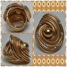 Aluminium Gold Ring