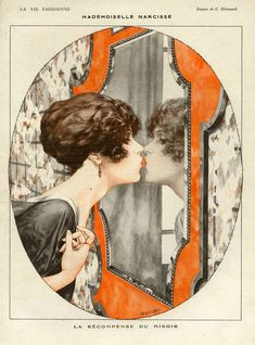 'La Vie Parisienne, 1919' by Advertising Archives on artflakes.com as poster or art print $17.33