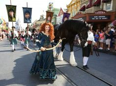 Merida Crowned as the Eleventh Disney Princess