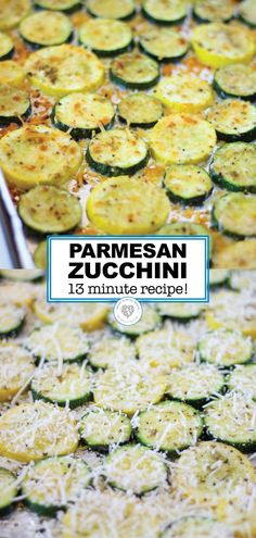 Got some zucchini? THIS is the way to eat it all up! Baked Parmesan Zucchini is one of those versatile side dishes that you can make alongside several dinners. Tender zucchini rounds baked to. Dinner Side Dishes, Healthy Side Dishes, Vegetable Side Dishes, Side Dish Recipes, Good Side Dishes, Sides For Dinner, Zucchini Side Dishes, Dishes Recipes, Main Dishes