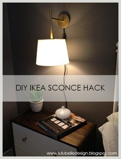 Lulu Belle Design DIY IKEA SCONCE HACK & My $15 Ikea sconces are a great budget friendly substitute for these ...