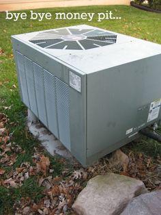Replacing a heat pump