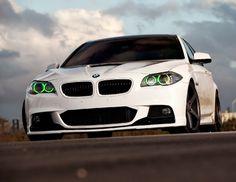 Green Halo BMW