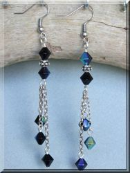 three strand tassle earrings, I soooo love this site!