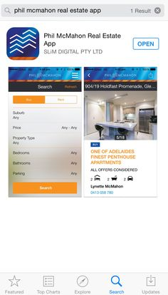 Download the Phil McMahon Real Estate App from the App Store