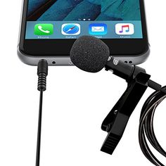 Lavalier Lapel Microphone Clip-on Omnidirectional Condenser Mic for Apple iPhone, iPad, iPod Touch, Samsung Android and Windows Smartphones Film Interviews Vocal Video Recording (Black) * Continue to the product at the image link. Youtube Setup, Vicks Vaporub Uses, Nikon Dx, Camera Deals, Nintendo, Video Studio, Studio Setup, Best Camera, Japan