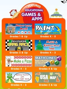 ABCya Games: The Leader in Free Kids Computer Games & Apps for your iPod/iPad!!  ABCya.com is a terrific site for your elementary classroom!