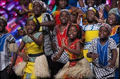 I saw the Watoto children's choir, and I have never seen a group filled with so much joy!  Beautiful music, and a wonderful cause, the Watoto Village.http://www.watoto.com/projects/the-watoto-model/childrens-villages